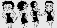 Stars In Real Life Give Betty Boop An Idea, She Goes Streamlined to Save Her Career