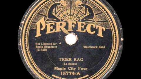 Maple City Four - Tiger Rag - 1933