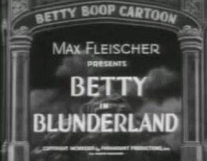 Betty blunder