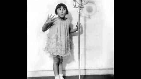 Baby Rose Marie - Don't Be Like That 1929 The Child Wonder