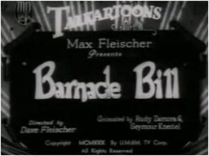 Barnacle bill tha sailor