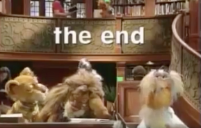 The End closing title