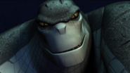 Croc evil grin