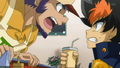Benkei yelling