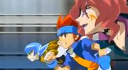 Gingka vs Team Spiral Force