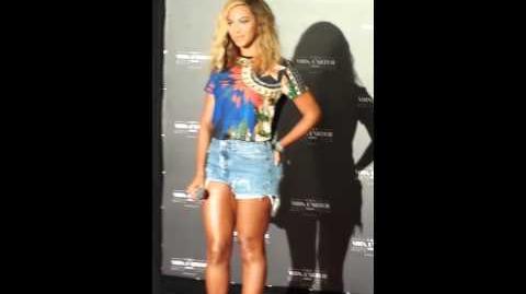 Beyoncé in Brazil (Press Conference)