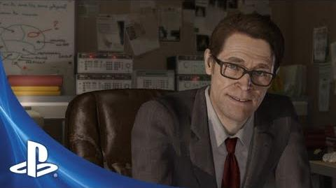 Willem Dafoe Reveals BEYOND Two Souls Trailer
