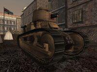 Beutepanzer FT-18