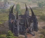 Riseofthewitchking- Angmar fortress