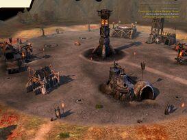 BFME 1 Isengard fort