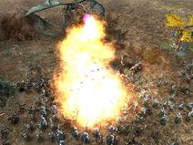 Incinerate on Gondorians