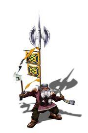 Dwarv axe thrower