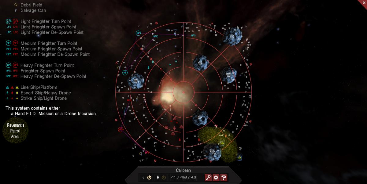 Calibaan 3D System Map