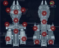 Ship slots