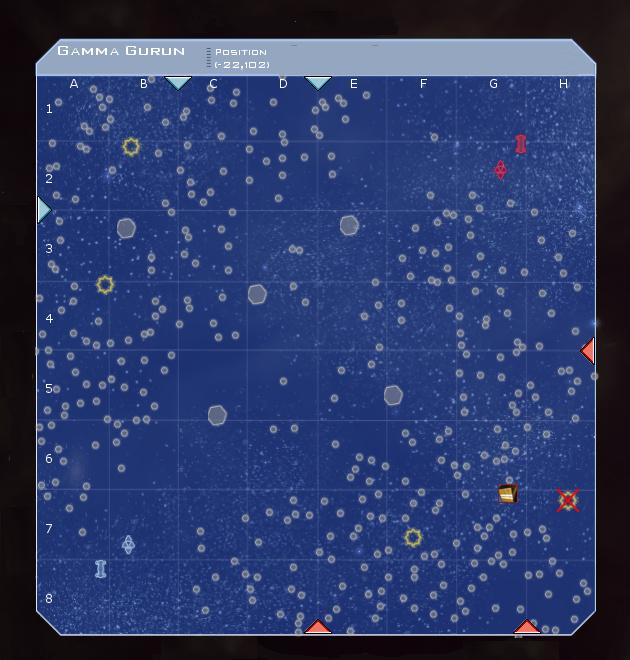 Gamma Gurun System Map