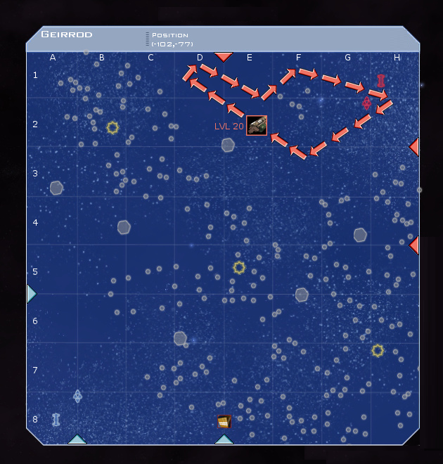 Geirrod System Map