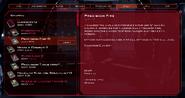 Cylon Pilot Log Skills Tab