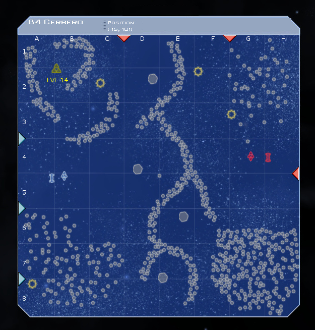 84 Cerbero System Map