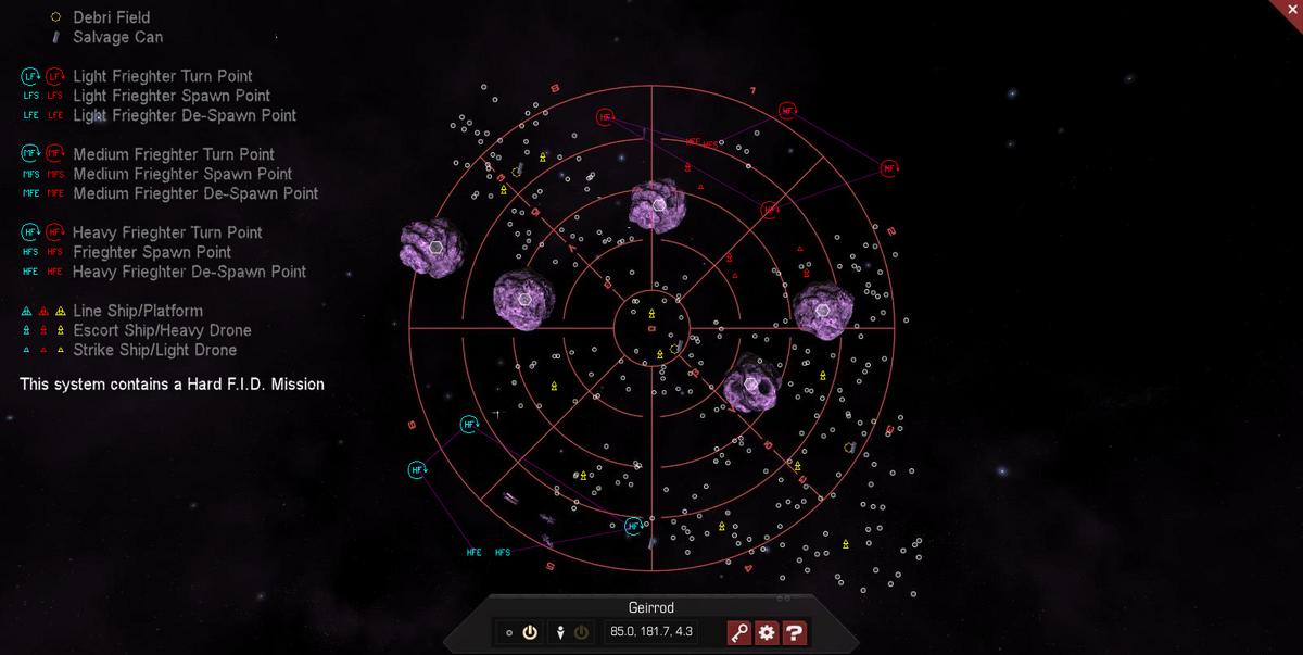 Geirrod 3D System Map