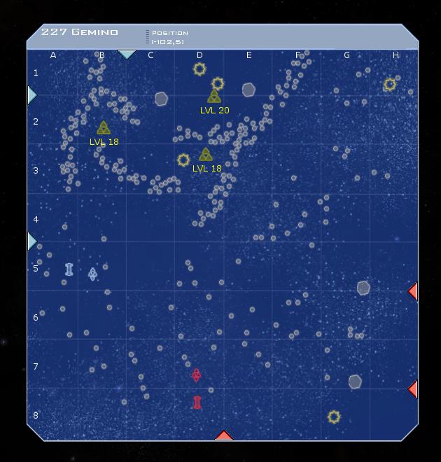 227 Gemino System Map