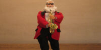 Sax Playing Santa