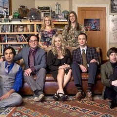 The TBBT cast - March 2013.