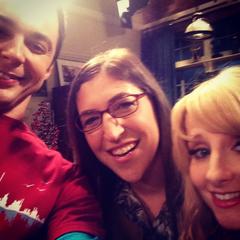 Behind the scenes selfie.
