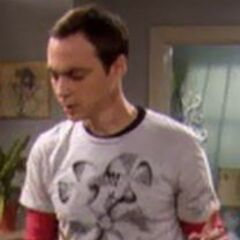 The many faces of Sheldon.