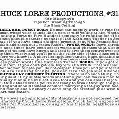 Chuck Lorre Productions, #215.