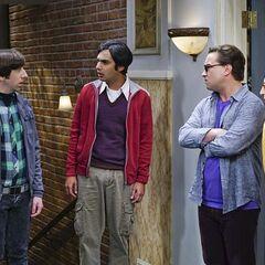 Raj is mad at Howard.