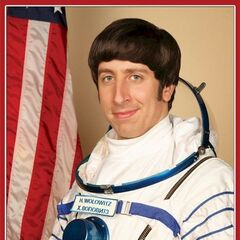 Howard Wolowitz Official NASA Portrait