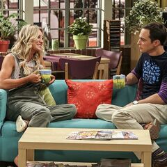 Penny advising Sheldon about cohabitation.