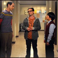 Sheldon, Leonard and Dennis.