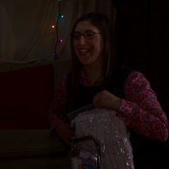 Amy spends the night (PG) with Sheldon.