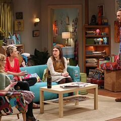 Sheldon wants to join the girls' annoying chit-chat.