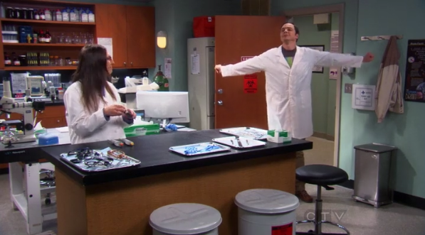File:Sheldon getting ready to work in Amy's lab.png