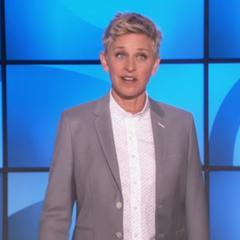 Ellen on her show.