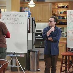 Leonard, Sheldon and their physics problem.
