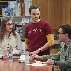 Sheldon's contract.