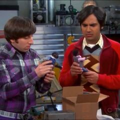 Raj and Howard complaining about their models.
