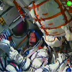 A real Soyuz capsule.