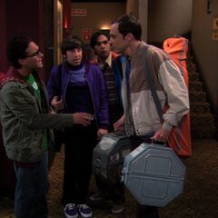 Sheldon put that film back.