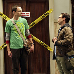 Leonard trying to compromise with Sheldon.