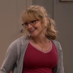 Bernadette loves her weird husband.