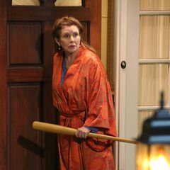 Carrie Fisher is baseball bat crap crazy.