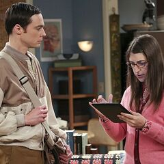 Sheldon breaking up with Amy.