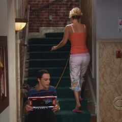 Penny after talking to Sheldon.