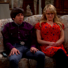 Stuart liking his job and Debbie Wolowitz is weird.
