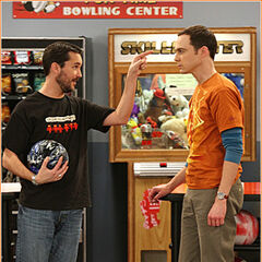 Sheldon vs. Wil Wheaton.