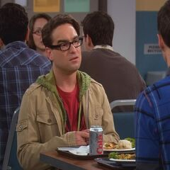 Discussing with Sheldon his first date with Penny.